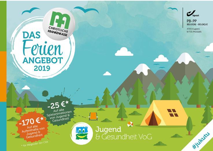 Jugend und Gesundheit: Ferienbroschüre 2019 erschienen!